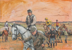 Ystradowen P2P #3 Oil on canvas 500 x 700 mm