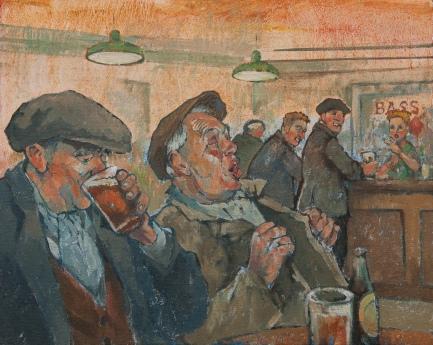 Last Orders, Oil on canvas